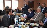 Başkan Gümrükçüoğlu, Düzköy İlçesini Ziyaret Etti