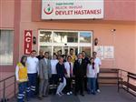 Dr. Yasin Yılmaz'dan İnhisar İlçe Hastanesi'ne Ziyaret