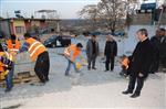 HASAN GÜNDÜZ - Belediye Cevizli'de Kilit Taşı Çalışmasına Başladı