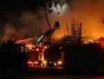 KIPTAŞ - İstanbul Maltepe'de korkutan yangın