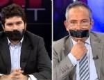 LATİF ŞİMŞEK - Canlı yayında siyah bantlı protesto
