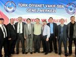 Türk Diyanet Vakıf Sen İstişare Toplantısı Nevşehir'de Yapıldı