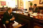 İZMIR DEMIR ÇELIK - Başkan Acar'a İş ve Siyaset Dünyasından Tebrik Yağıyor