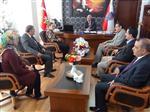 Milletvekili Çalık ve İl Başkanı Tüfenkçi'den Emniyet Müdürlüğüne Ziyaret