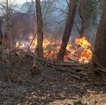Pınarbaşı'nda Ev Yangını