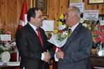 Pınarbaşı Müftüsü, Belediye Başkanını Ziyaret Etti