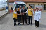 Kazımkarabekir 112 İstasyonuna Yeni Ambulans