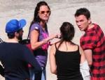 EBRU ŞALLI - Ebru Şallı ile Sinan Akçıl yakalandı