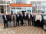 FERIT KARABULUT - Milletvekili Vural Kavuncu'dan Başkan Karabulut'a Ziyaret