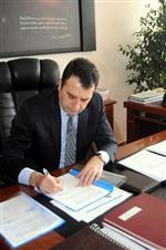 Pınarbaşı Yol Yapım İhale Sözleşmesi İmzalandı