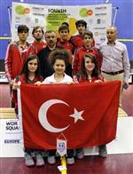 AHMET LEVENT - Avrupa Squash Federasyonundan Squash Türk Milli Takımına Faır Play Ödülü