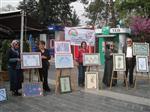 EBRU SANATı - Düzce'de Ebrucular Sergi Açtı