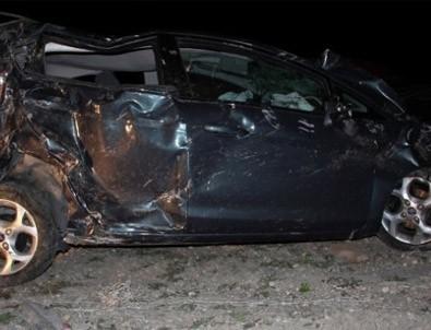 Çankırı'da trafik kazası: 1 ölü, 3 yaralı