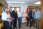 EBRU SANATı - Gediz Meslek Yüksekokulu'ndan Başkan Saraoğlu'na Teşekkür Ziyareti