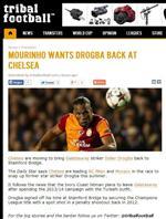 DAILY STAR - Drogba, Chelsea'ye Dönüyor