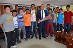 Dikili Güneş Spor'dan Başkan Tosun'a Ziyaret