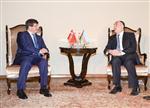 ÜÇLÜ ZİRVE - Davutoğlu Azeri Mevkidaşı Memmedyarov'la Görüştü