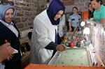 EBRU SANATı - Protokol Mensuplarının Eşleri Ebru Sanatında Yarıştı