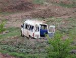 Çankırı'da Yolcu Minibüsü Kaza Yaptı Açıklaması