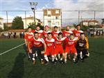 AHMET TEZCAN - Ahmet Tezcan Kupası Şampiyonu Asyam Yapı Oldu