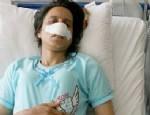 SABAH EZANı - Vahşet: Kocası cinsel organını yaktı burnunu kesti