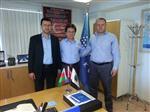 İZZETTİN DOĞAN - Asimder'den Türk Telekom Müdürü Doğan'a Ziyaret
