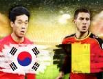 HAZARD - Güney Kore 0 - 1 Belçika (Sonuç)