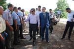 HUKUK SAVAŞI - Vali Çınar Bayramiç'i Ziyaret Etti