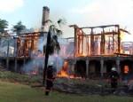 TARİHİ KÖŞK - Fethi Paşa Korusu'nda yangın