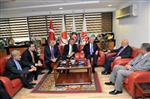 AĞLAMA DUVARı - Kılıçdaroğlu'ndan Hak-iş'e Ziyaret