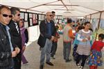 Başkan Samur, Öğrencilerin Resim Sergisini Açtı