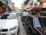 Kozcağız'da Bayram Yoğunluğu Trafiği Felç Etti