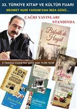ZİYA OSMAN SABA - Edebiyatçı Mehmet Nuri Yardım'dan İmza Günü