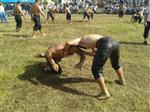 Yenice'de Yağlı Güreş Heyecanı