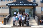 ERCAN ŞIMŞEK - Dpü Güzel Sanatlar Fakültesi Heyeti Eskigediz'i İnceledi