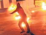 Cizre'de molotoflu saldırı: 1 yaralı