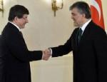 Cumhurbaşkanı Gül, Davutoğlu'nu tebrik etti