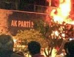 AK Parti binası ateşe verildi