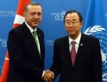 Erdoğan BM Genel Sekreteri Ban ile telefonda görüştü