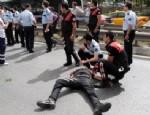 HÜSEYIN YÜKSEL - Erdoğan'ın korumaları kaza yaptı