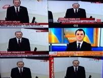 Cemaat'in kanalı Erdoğan'ı görmedi