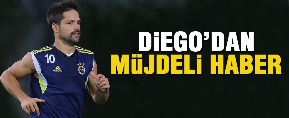 Diego'dan müjdeli haber