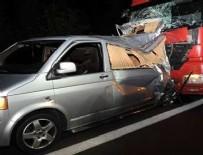 Düzce'de trafik kazası: 2 ölü, 1 yaralı