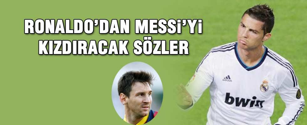 Ronaldo'dan Messi için şok sözler