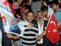 Cumhurbaşkanı Erdoğan'a İstanbul'da Coşkulu Karşılama