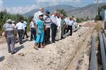 HÜSEYIN ERGÜN - Salur, Kavak ve Hızırkahya İçin İçme Suyu Projesi Hazırlandı