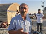 MAHSUR KALDI - Sınırda Yezidiler İçin Çadırlar Kuruluyor