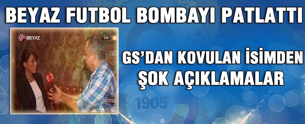 Ayşe Egemen BEYAZ FUTBOL'da Galatasaray'ın Yolsuzluğunu Anlattı