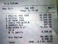 Bodrum'da bir kulüpte ödenen hesap dudak uçuklattı