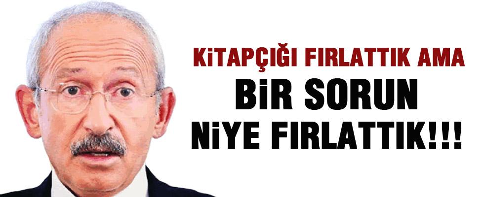 Kılıçdaroğlu: Kitapçık fırlatılması meşru müdafaadır